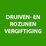 Druiven- en rozijnenvergiftiging